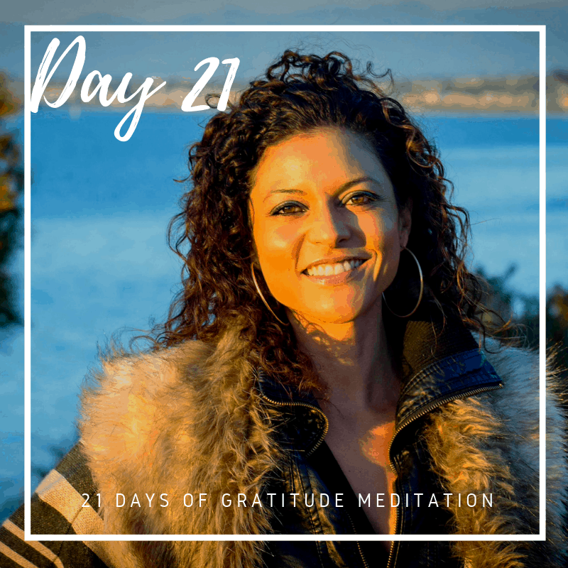 Gratitude Guided Meditation Practice, Day 21